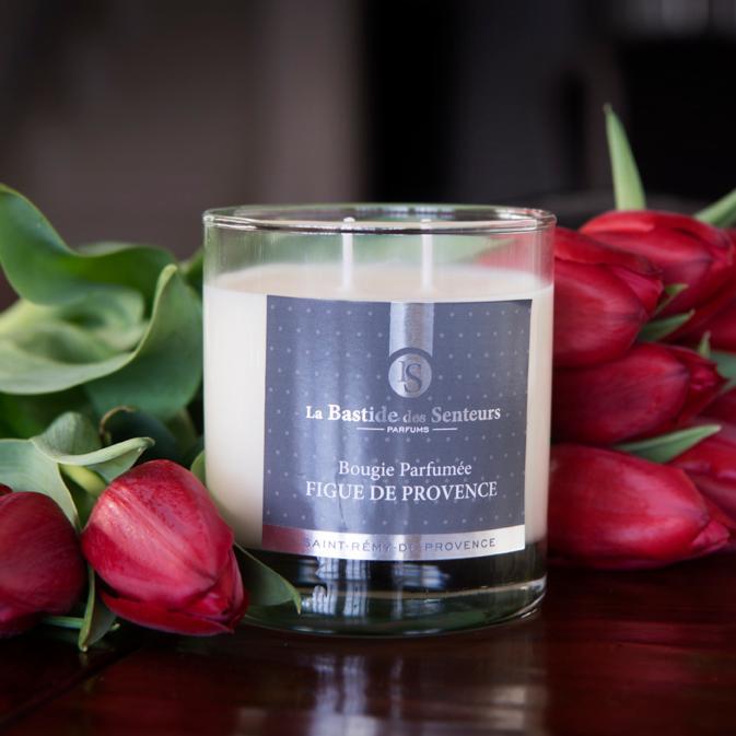 Bougie Parfumee 240gr Fleur De Coton